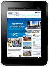 Wiin a kindle fire from Educational Tours