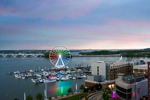 photo of Capitol Wheel at National Harbor in Washington, DC