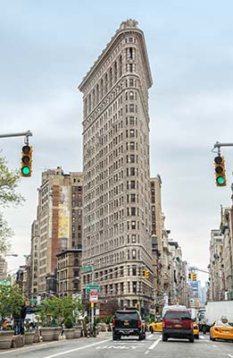 Flat Iron Building NYC Ed Tours