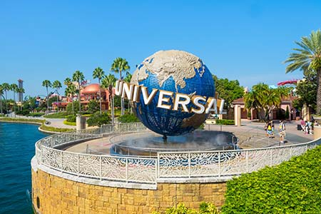 Universal Florida Entrance Photo